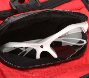 Ektelon Team Tour Racquetball Bag Eyewear Compartment