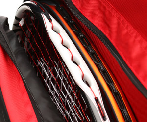 Ektelon Team Tour Racquetball Bag Racquet Compartment